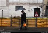 باران بهاری در 20 استان کشور/وزش باد شدید در تهران