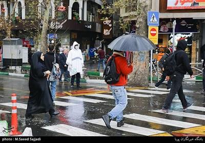 بارش باران و برف در 22 استان کشور