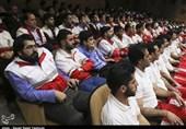 امدادگران، داوطلبان و جوانان هلال احمر در استان زنجان تجلیل شدند