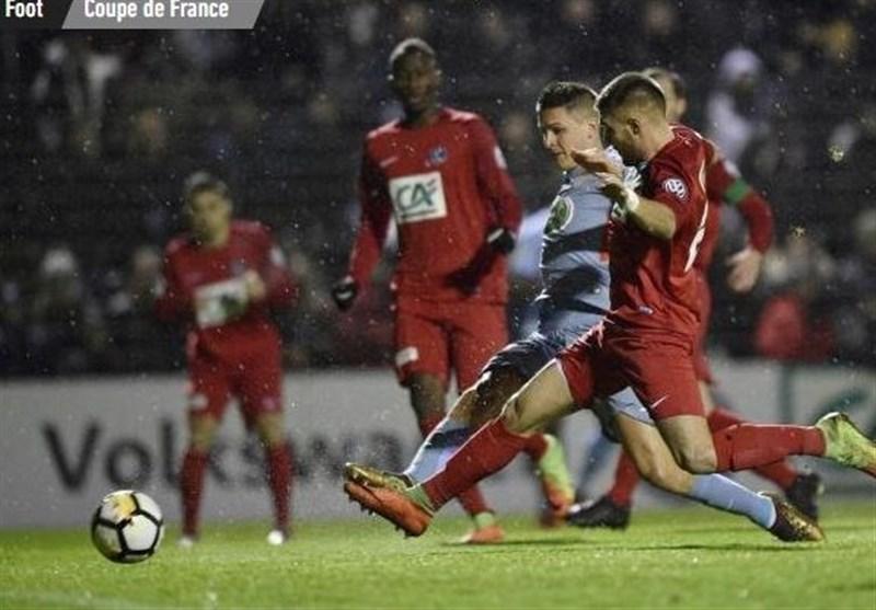 جام حذفی فرانسه| موناکو خارج از خانه صعود کرد