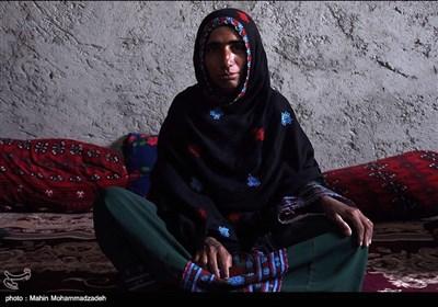 گلثومه سی و پنج ساله از اهالی روستای جورین و دارای همسر و چهار فرزند است