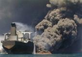 تکمیلی| محموله میعانات گازی صادراتی به کره جنوبی روی آب آتش گرفت