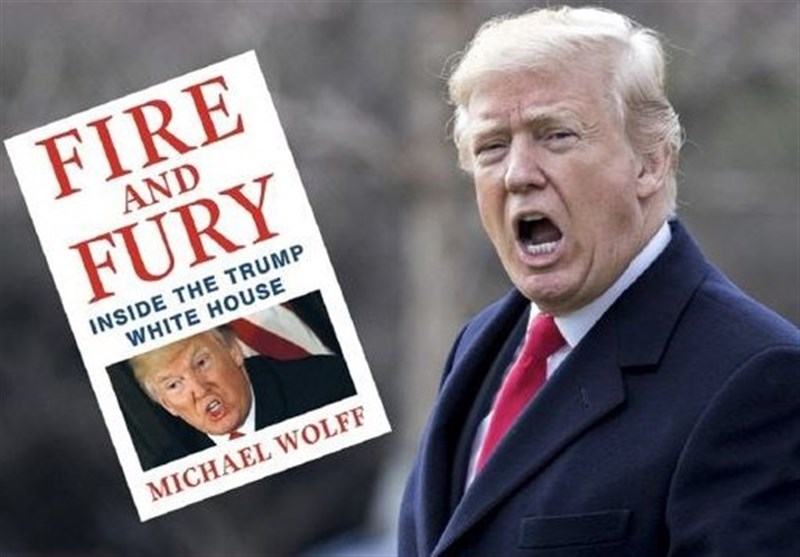کتاب «خشم و آتش در کاخ سفید ترامپ»