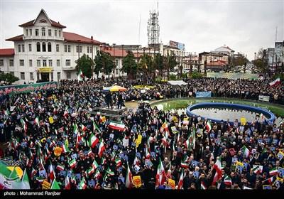 مظاهرات فی ''رشت'' تندد باعمال الشغب الأخیرة فی إیران
