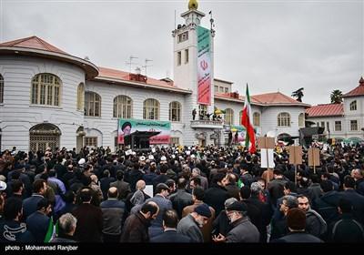 راهپیمایی مردم رشت در محکومیت اغتشاشات اخیر
