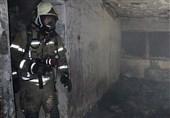 تصاویر/ نجات 40 نفر از ساکنان ساختمان مسکونی در شهرک اکباتان