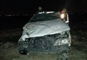 تصادف شدید 2 پژو پارس در بزرگراه آزادگان + تصاویر