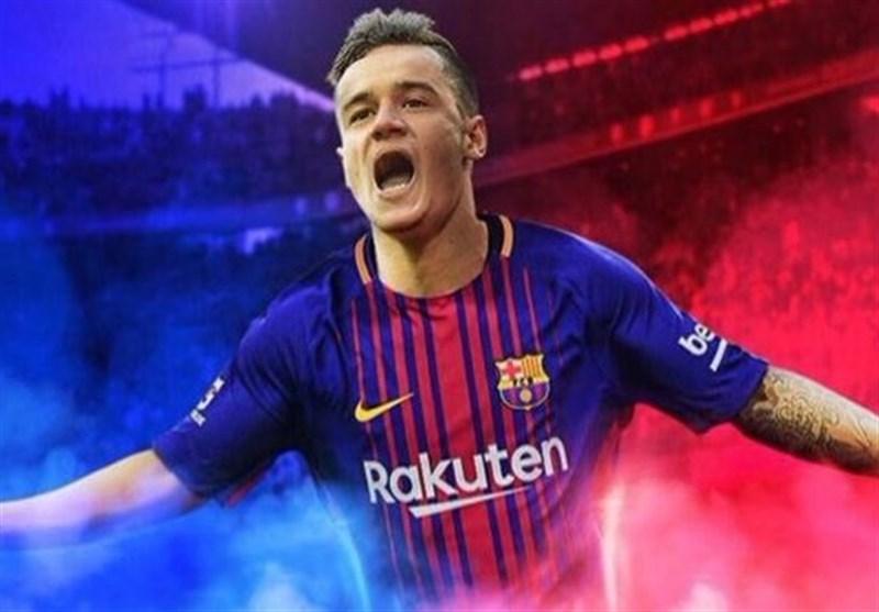 رونمایی از پیراهن فصل آینده بارسلونا با اسم و شماره کوتینیو + عکس