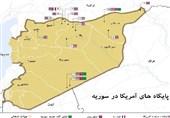 پایگاه های آمریکا در سوریه