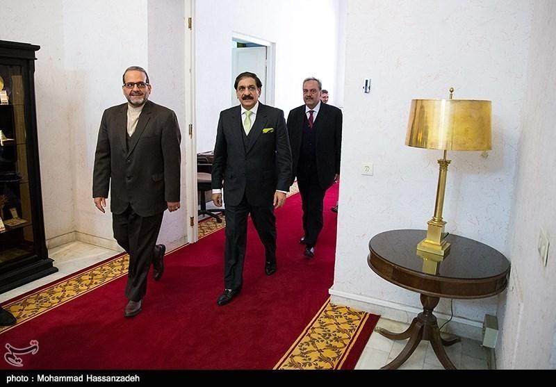 ناصر خان جنجوعہ اور علی شمخانی ملاقات کی تصویری جھلکیاں