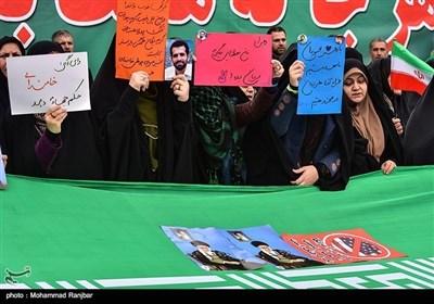 """ایران میں حالیہ فتنے کیخلاف """"رشت"""" کے عوام کی عظیم الشان ریلی"""
