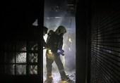 آتشسوزی در استخر یک هتل در شمال پایتخت + تصاویر