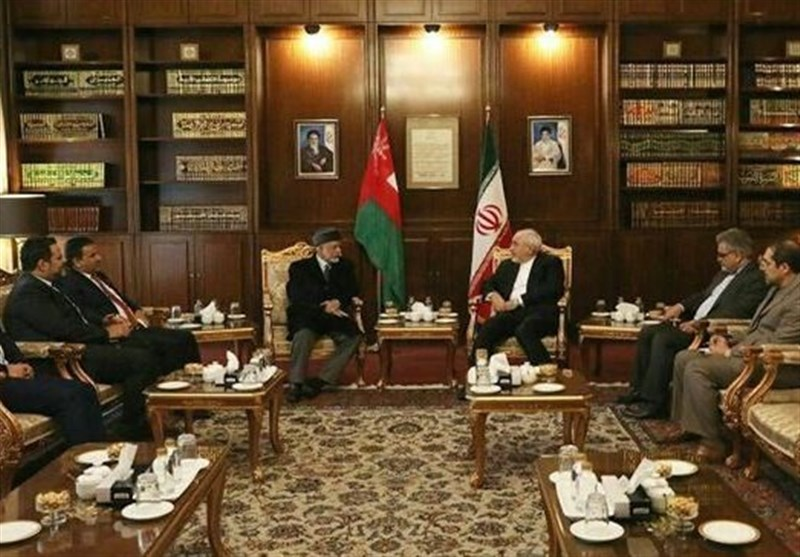 Foreign Dignitaries Meet Iran's FM Zarif in Tehran