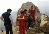 نجات مرد میانسال در ارتفاعات بیبی شهربانو + عکس