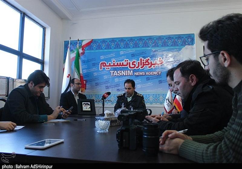 حضور سرهنگ کریم نوری در خبرگزاری تسنیم