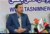 بازید علیزاده مدیرکل ارشاد استان کرمان از غرفه تسنیم کرمان