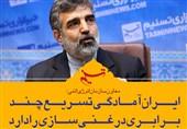 فتوتیتر/کمالوندی:ایران آمادگی تسریع چند برابری در غنی سازی را دارد
