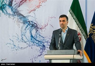 ابراهیم داروغهزاده دبیر جشنواره در مراسم قرعهکشی سیوششمین دوره جشنواره فیلم فجر