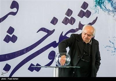 سیروس الوند در مراسم قرعهکشی سیوششمین دوره جشنواره فیلم فجر
