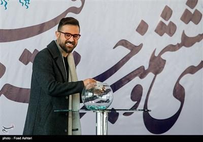 هومن سیدی در مراسم قرعهکشی سیوششمین دوره جشنواره فیلم فجر
