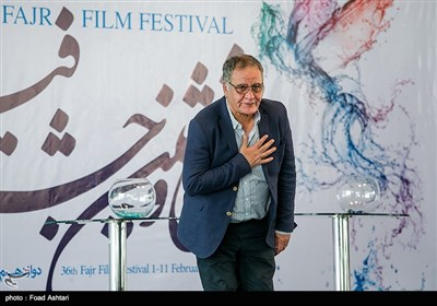 رسول صدرعاملی در مراسم قرعهکشی سیوششمین دوره جشنواره فیلم فجر