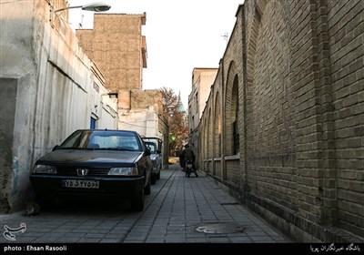 کوچه پس کوچه های قدیمی محله امامزاده یحیی(ع)