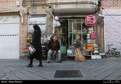 مغازه های قدیمی محله امامزاده یحیی(ع)