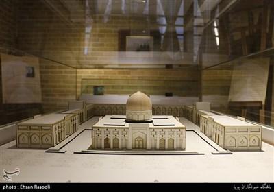 ماکت مقبره آیت الله مدرس در شهر کاشمر