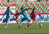 تساوی در 2 دیدار و برتری استقلال خوزستان مقابل پدیده در 45 دقیقه نخست