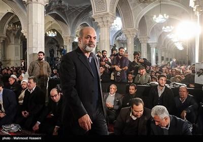 سردار احمد وحیدی وزیر اسبق دفاع در اولین سالگرد درگذشت آیتالله هاشمی رفسنجانی