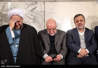 بیژن نامدار زنگنه وزیر نفت در اولین سالگرد درگذشت آیتالله هاشمی رفسنجانی