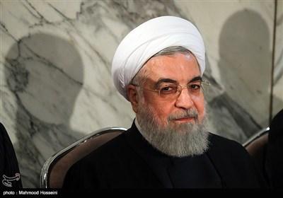 حجتالاسلام حسن روحانی رئیس جمهور در اولین سالگرد درگذشت آیتالله هاشمی رفسنجانی