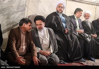 حجتالاسلام سیدمحمود علوی وزیر اطلاعات در اولین سالگرد درگذشت آیتالله هاشمی رفسنجانی