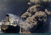 تیمى از سازمان بنادر هرمزگان برای اطفا حریق نفتکش ایرانی عازم چین شد