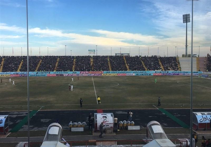 حاشیه بازی مشکیپوشان - پرسپولیس| ورزشگاه ثامن در اختیار هواداران پرسپولیس + عکس