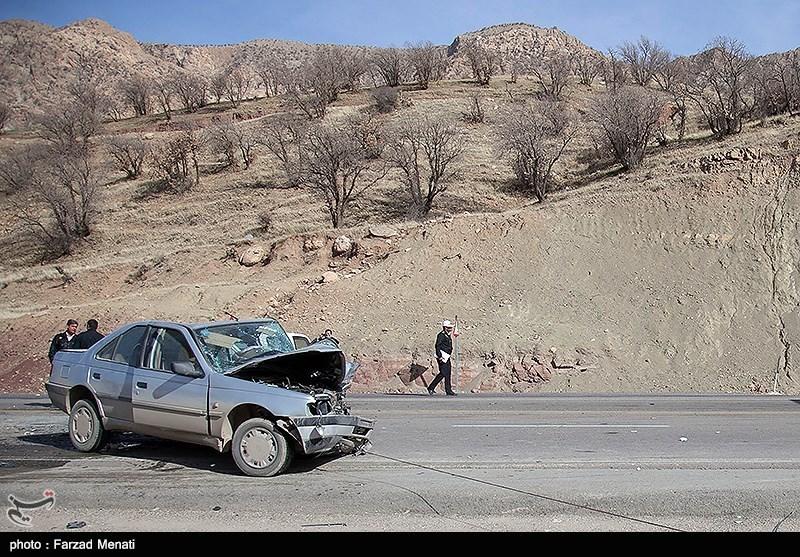 تصادف در گردنه پاطاق - کرمانشاه