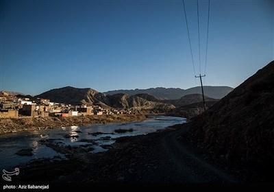عبور از رودخانه کشکان-لرستان