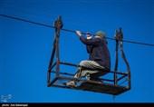"""تردد دلهرهآور اهالی روستای سیلزده در جوار معمولان با """"گرگر"""" + فیلم و تصاویر"""