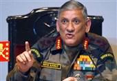 ہمسایہ ممالک نے مغرب میں بھارت کے خلاف پراکسی وار چھیڑی ہوئی ہے، بھارتی آرمی چیف