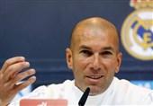 زیدان: رئال مادرید هرگز تسلیم نمیشود