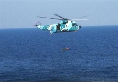 ایرانی بری فوج کا ہیلی کاپٹر سے سمندر میں میزائل پھینکنے کا تجربہ