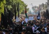 راهپیماییهای گسترده فلسطینیان در ششمین جمعه خشم بعد از تصمیم ترامپ + تصاویر
