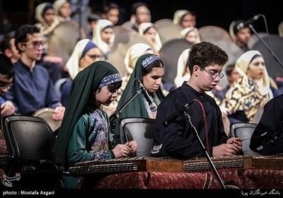 اجرای ارکستر پارس در سومین شب از سی و سومین جشنواره موسیقی فجر