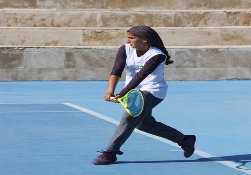 مشکات الزهراء قهرمان رقابتهای سطح دو تنیس آسیا شد