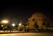 ساختمانهای دولتی ارومیه غرق نور، مسجد جامع در تاریکی مطلق +تصاویر