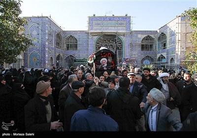 تشییع حجتالاسلام و المسلمین شیخ مهدی مظاهری -اصفهان