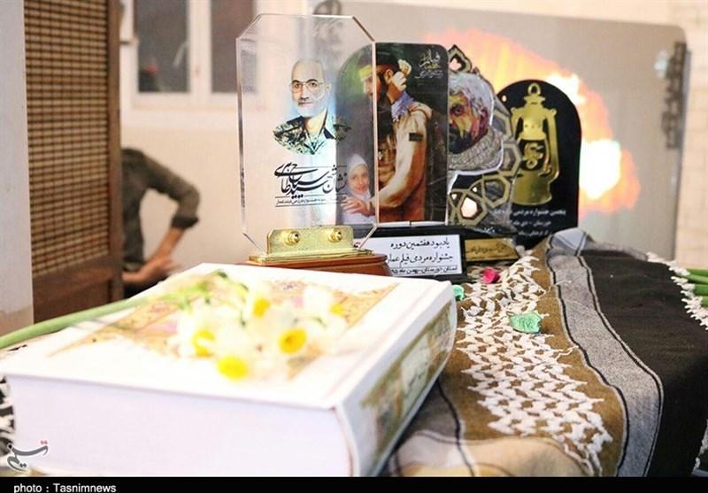 آئین افتتاح موسسه تاریخ شفاهی انقلاب اسلامی اهواز به روایت تصاویر