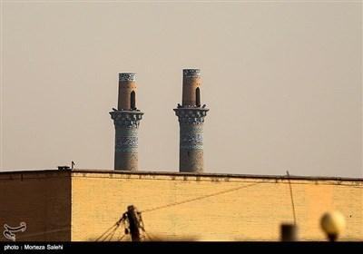 مناره های دارالضیافه در محله جویباره