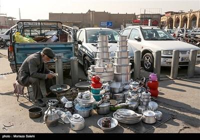 دستفروشهای محله جویباره اصفهان