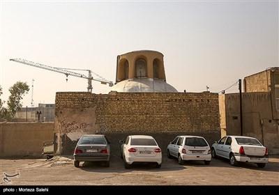 بافت قدیمی در محله جویباره اصفهان
